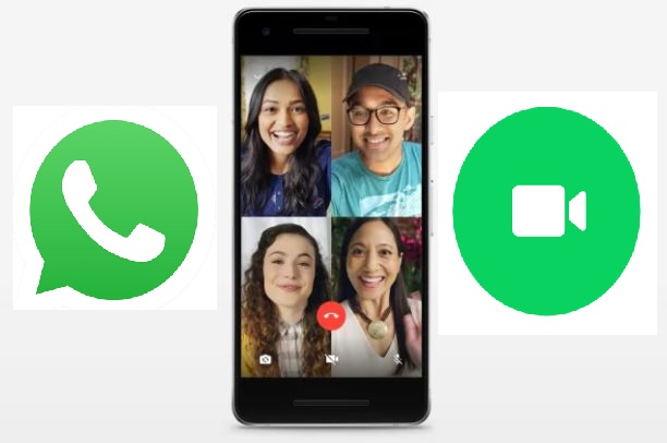WhatsApp Group video call and voice call